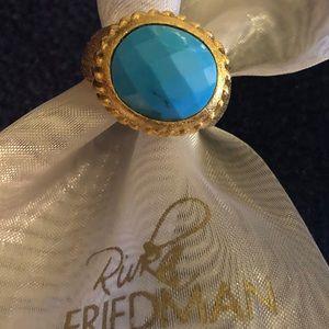 Rivka Friedman Blue Stone Ring